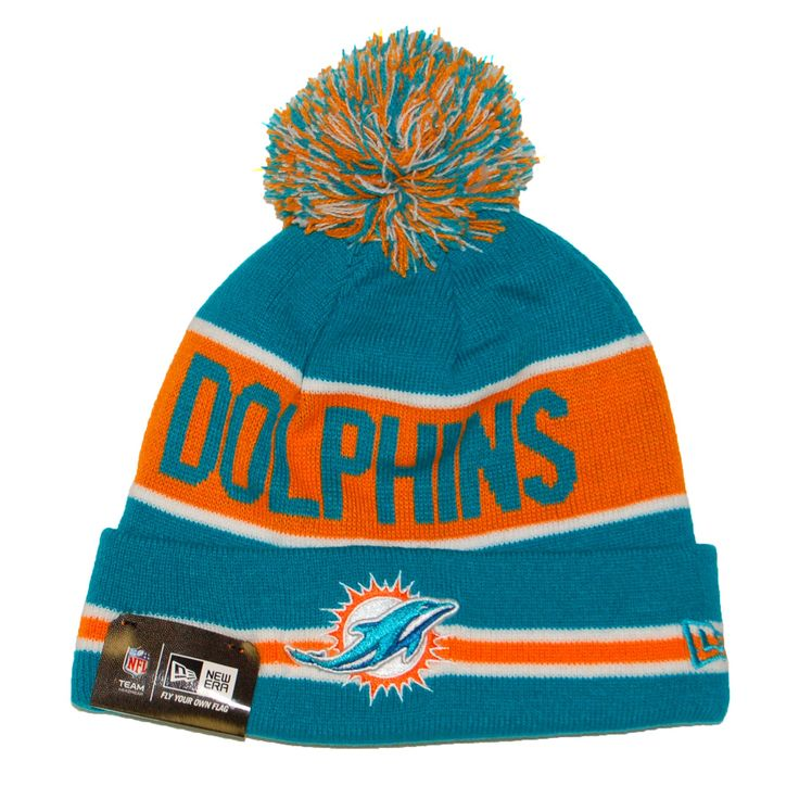 miami dolphins hat | Miami Dolphins Nfl The Coach Knit Hat