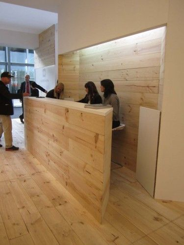 concept idea: reception desk