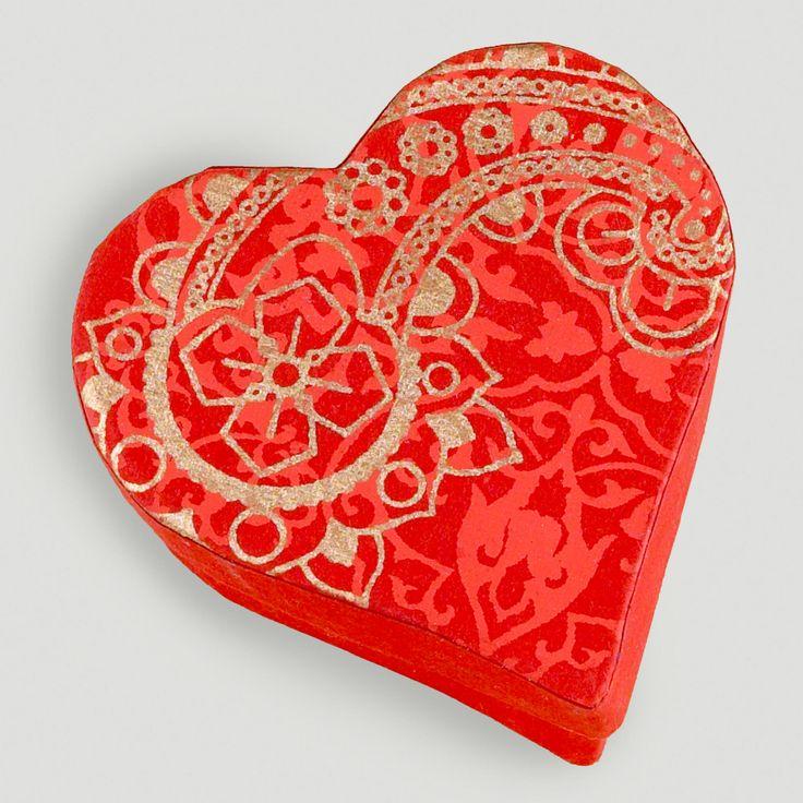 Small Heart Handmade Jewelry Box, Set of 2 | World Market