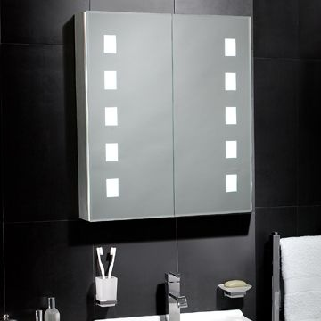 Elana LED Mirrored Cabinet 255