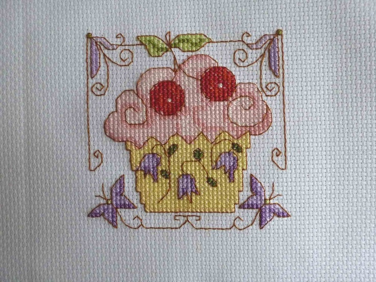 Cross Stitch - Panel for Kids Company Project - stitched March 2012