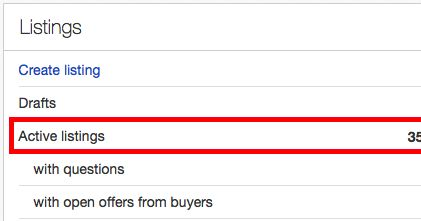 Sometimes it is a good idea to end a listing if it has a lot of views and re-start it. eBay's search engine, Cassini , likes active stores a...