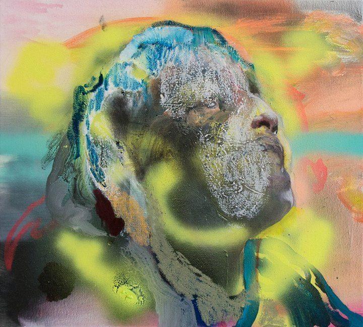 Sneak peek_02 Winston Chmielinski, Magical Realism 2014, Oil and acrylic on canvas Öl und Acryl auf Leinwand, 45 x 50 cm