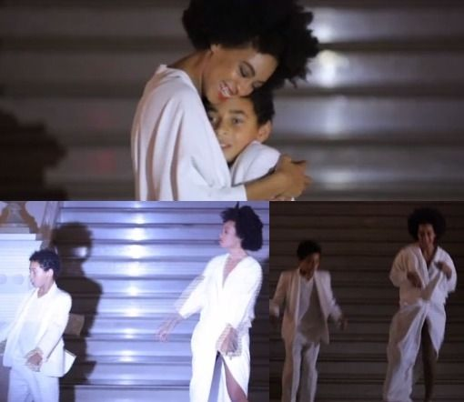 Solange And Son, Juelz Dance To 'No Flex Zone At Her Wedding (Video) http://thesexysinglemommy.net/2014/11/solange-son-juelz-dance-flex-zone-wedding-video/ #solange #solangewedding