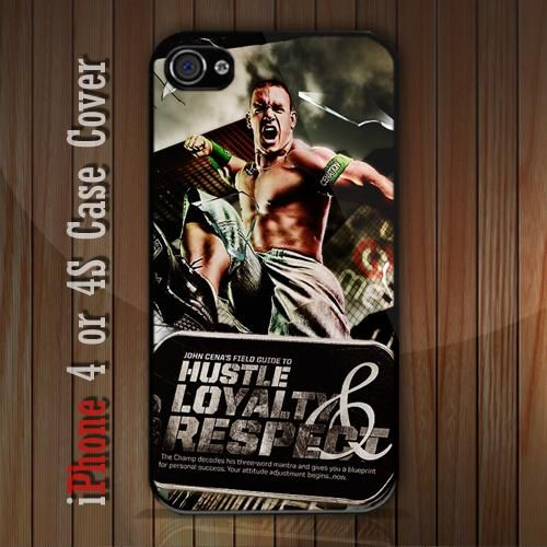 New WWE Jhon Cena iPhone 4 or 4S case Cover iPhone case 4/4S - 1