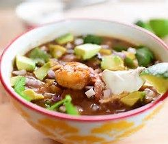 Image result for shrimp tortilla soup
