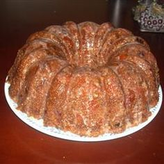 Orange Slice Cake Recipe--My ex-husband's mother made this cake. It is still one of my favorite cakes, and she is still one of my favorite cooks. I learned so much from her.