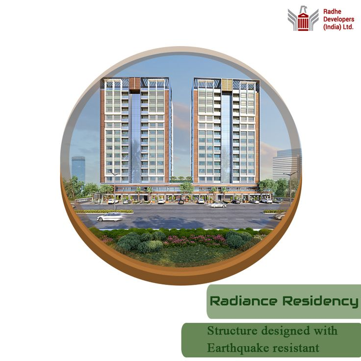 Structure designed of #RadianceResidency with #Earthquake #Resistant. It is a project of 92 #Apartments, with #Shops on the ground and first floor. #RadianceResidency #LuxuriousApartmentsinAhmedabad Visit : http://www.radhedevelopers.com/projects/radiance-residency/