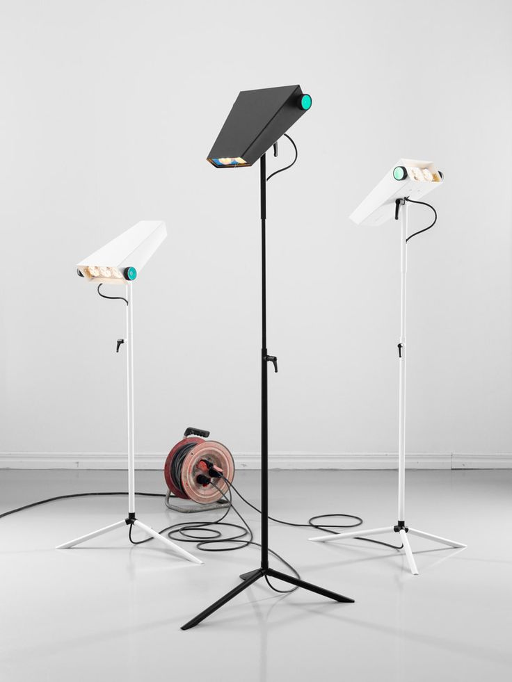 LED droid lamp by jangir maddadi at maison et objet 2012