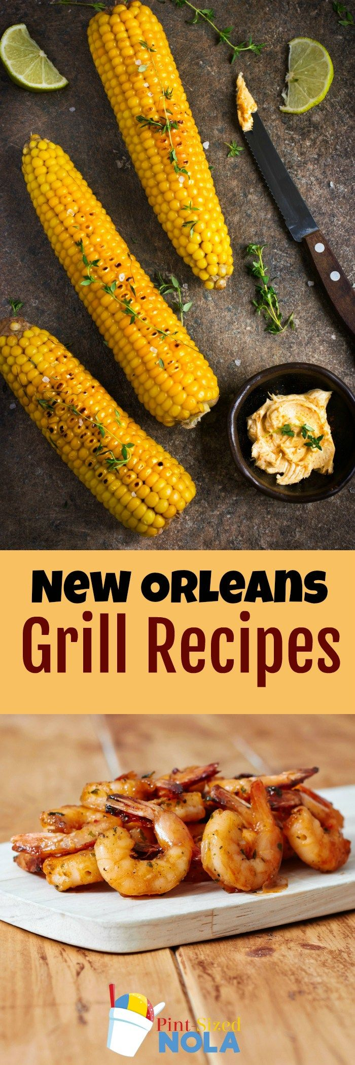 New Orleans Grill Recipes