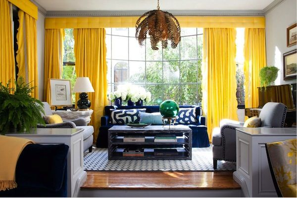 Color Combo Crush Navy Blue And Yellow
