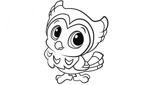 Baby Owls Coloring Pages Owl Coloring Pages Bird Coloring Pages Cute Coloring Pages