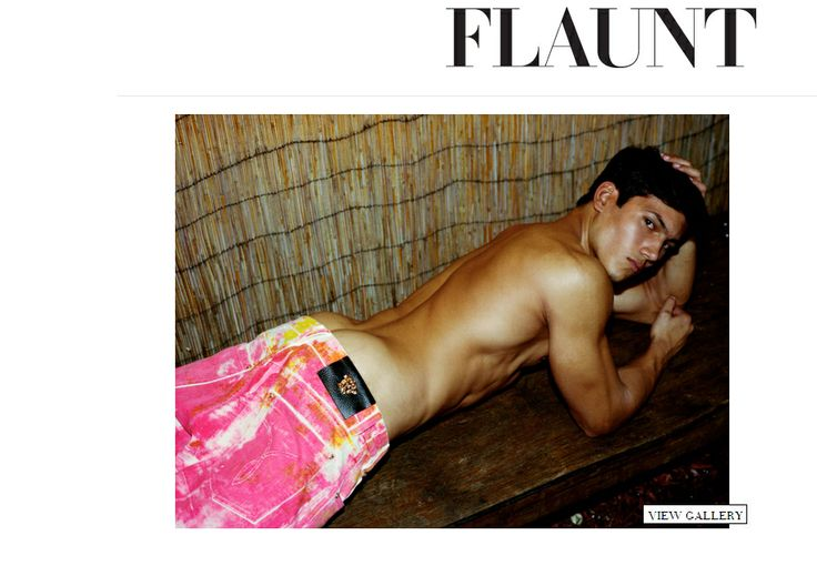 Lorenzo Lee on the Cover of Flaunt Magazine Website!