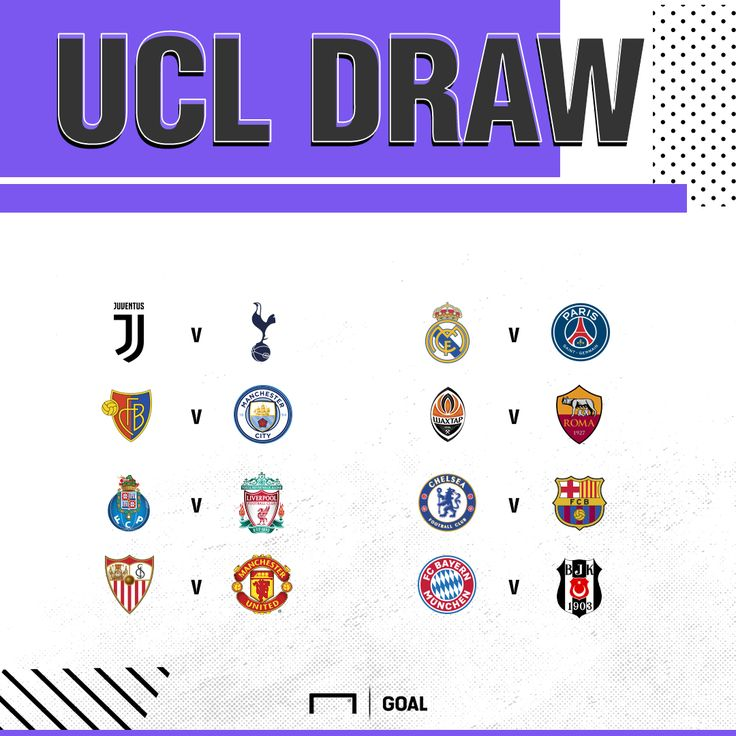 CHAMPIONS LEAGUE LAST 16 DRAW: MAN UTD VS SEVILLA, REAL ...