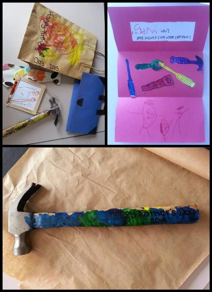 Children's Handmade Fathers Day gifts – easy ideas and inspiration to help children be creative and show their love for Dad! From Mummy Musings and Mayhem