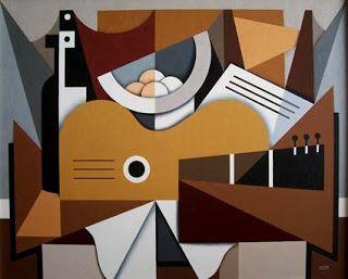 Rafa Chevira: Bodegón con Guitarra