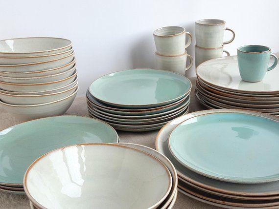 Stoneware Dinnerware Set Mix And Match Dinnerware Set Etsy Stoneware Dinnerware Sets Handmade Dinnerware Stoneware Dinnerware Mix and match dinnerware sets
