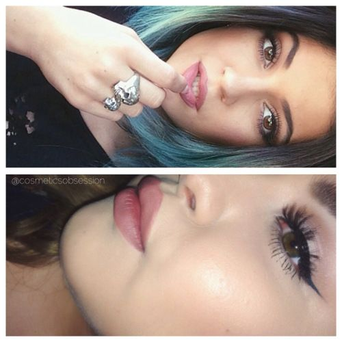 Kylie Jenner's Infamous Lip Shade! --CosmeticsObsession