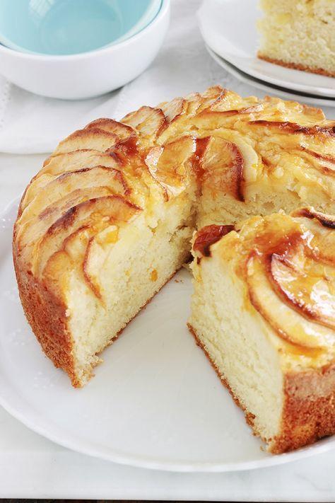 Gâteau Au Yaourt Aux Pommes Extra Moelleux Facile Recette