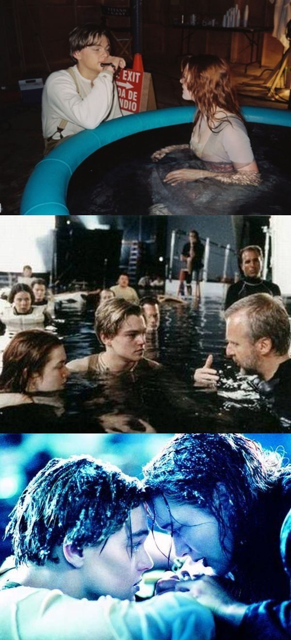 Titanic behind the scenes | Never Let Go | Pinterest | The ...