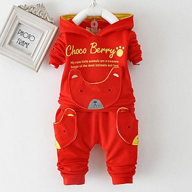 Red Newborn To Toddler Boys Print All-In-One Set. Only at www.pandadeals.co.uk