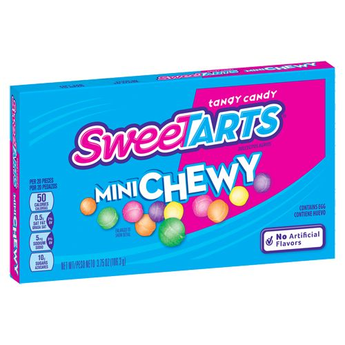 Mini Chewy SweeTARTS - 3.75-oz. Theater Box