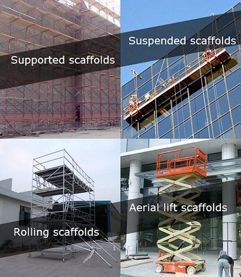 Types of scaffoldings - Buy or hire one that suits you at Topdeck Scaffolding