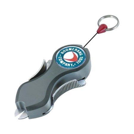 Boomerang Tool Company The Snip-Grey Heavy Duty Line Cutter, Multicolor