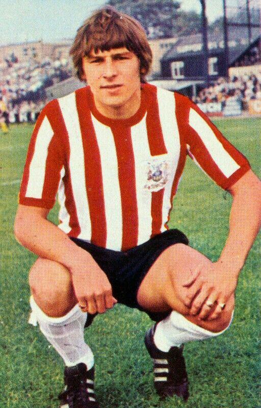 Geoff Salmons of Sheffield Utd in 1971.