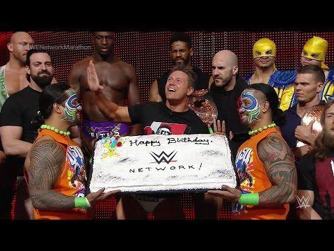 WWE Superstars and Diva wish WWE Network a happy birthday - YouTube