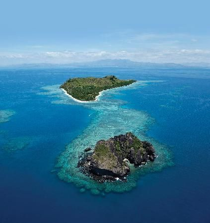 """Vomo Island Resort Fiji, South Pacific 10 hotels on private islands """"We spent 5 nights at Vomo at the end of June and loved every minute! ...It exceeded our expectations, which were high to begin with!"""""""
