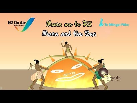 Mana and the Sun (ENGLISH LANGUAGE) - YouTube