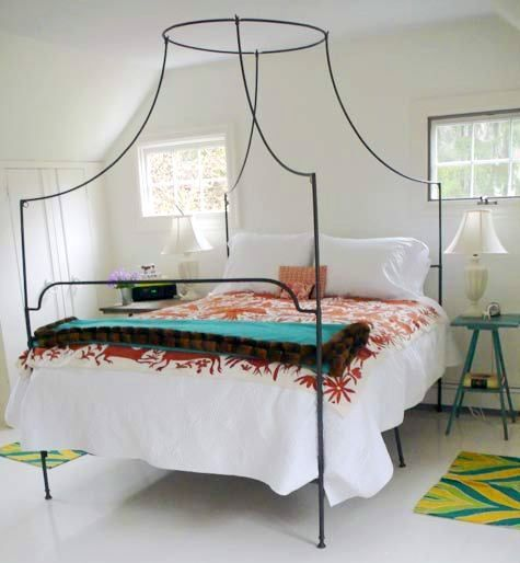 Funky BedBed Frames, Guest Bedrooms, Bedrooms Design, Interiors Design, Beds Room, Design Bedrooms, Canopies Beds, Beds Frames, Four Posters Beds