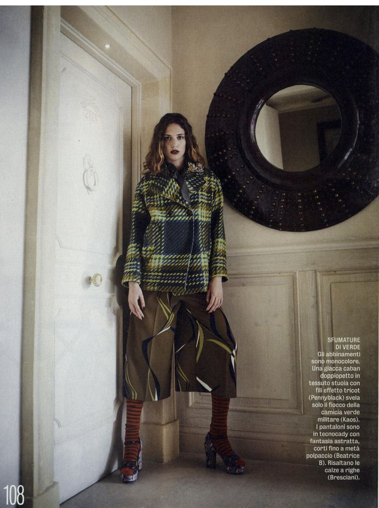 Diva eDonna- Pennyblack tartan coat