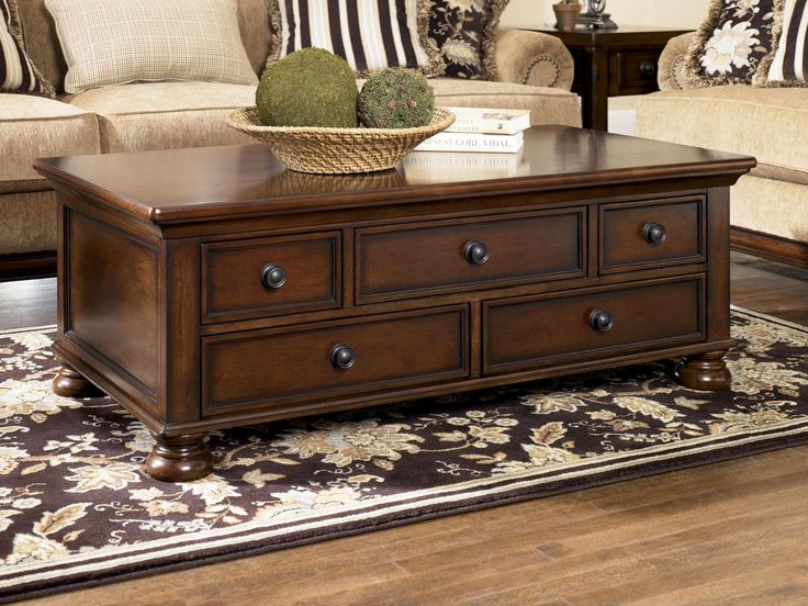 20 Mahogany Coffee Table with Storage - Real Wood Home Office Furniture Check more at http://www.buzzfolders.com/mahogany-coffee-table-with-storage/