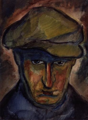 Self-Portrait - Vilho Lampi