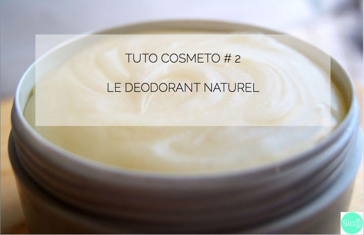 TUTO COSMETO #2 : LE DEODORANT NATUREL