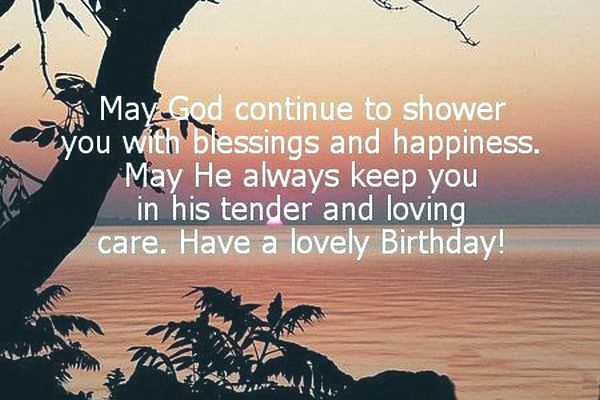 There is nothing more special than leaving a special greeting for a beloved. The outpouring of positive with a touch of biblical message can uplift one's spirit to give him/her a boost of strength in the chapters to come. To better prepare them on the coming journey, send them off with a prayer and a beautiful Christian birthday wish.