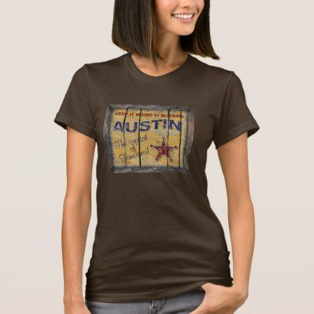 Vintage Texas - Austin Shirt - click to get yours right now!