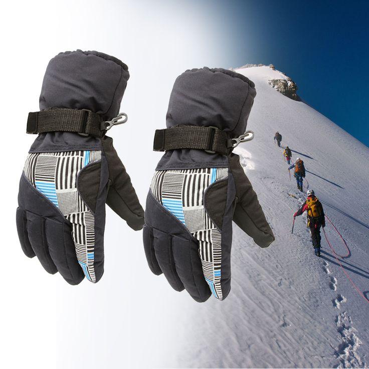 Sailing Skiing Gloves Winter Warm Cut Yachting Rope Kayak Dinghy Fishing Water Outdoor Snow Ski Snowboarding Gloves For Men