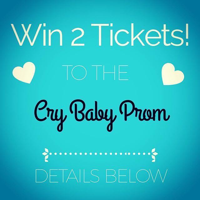 WIN 2 TICKETS  to the Cry Baby Prom this Friday night!!! How to Enter? SO EASY!!! Tag your Bestie and make a comment to this post.  Cry Baby Movie quotes are encouraged!  Winner will be chosen at random on Friday morning- so keep an eye on your DM!  And if you dont win here you can always try at the event! Were giving away a $75 Gift Certificate in their raffle!! #heartofhaute  #crybabyprom  #wintickets #stufftodoinla #crybabymovie