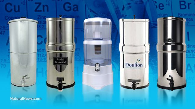 Big Berkey, ProPur and gravity water filters: A lab testing update from the Health Ranger
