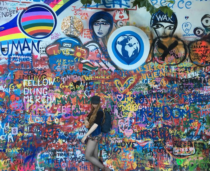 """Imagine all of us living in peace, it's too beautiful to just be a dream""  💜✌️  Photo by Andrés Nuñez  John Lennon Wall Praɦa, Czech Republic 🇨🇿  #travel #travelphotography #photographer #peace #movement #lennon #lennonwall #prague #praɦa #czech #czechrepublic  #city #europe #summer #summeradventures #wanderlust #endlesstravel #adventure #journey #fjällräven #photography #model #publishedmodel #travelingmodel #international #entrepreneur #redhead #internationalmodel #exploreeurope…"