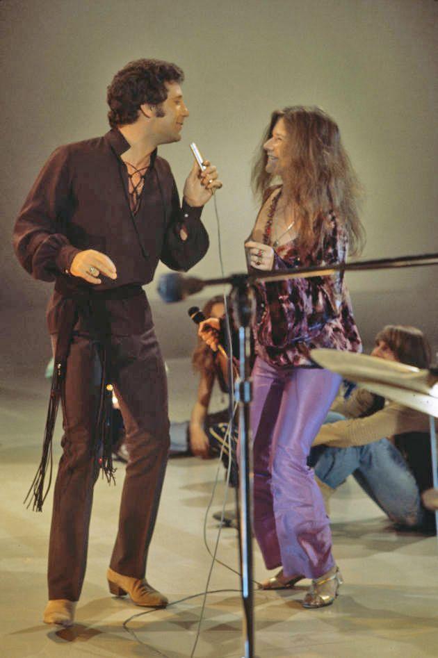 Tom Jones and Janis Joplin.