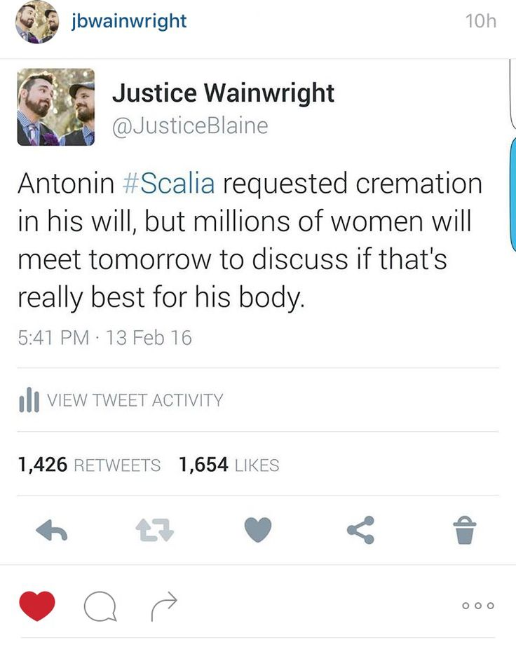 Justice Scalia's final wishes being considered by millions of women