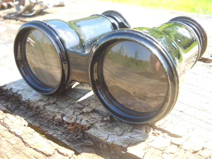 French Vintage Binoculars Field or Theatre Brass with Painted FInish Made by Maison de L'Ingenieue Chevallier Place de Pont Neuf 15 Paris by NormandyCollectables on Etsy