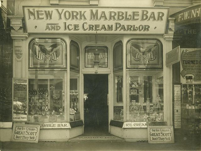 A 1912 icecream parlour in Brisbane from the state library of queensland. i just love this image.