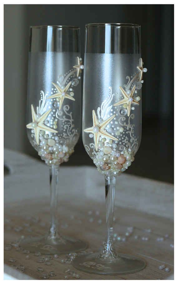 "For Your Toast | 63 Ideas For Your ""Little Mermaid"" Wedding"
