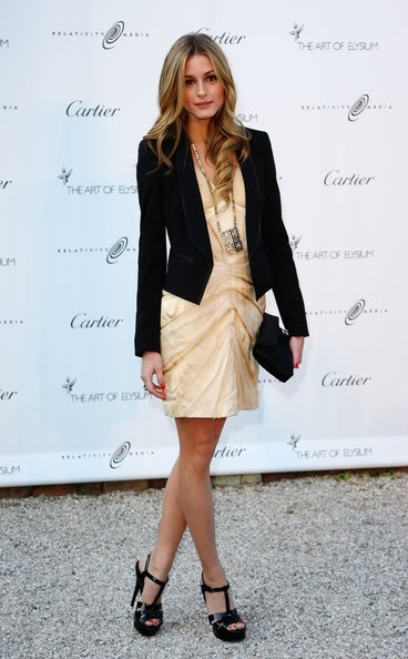 Oliviapalermo, Cocktails Dresses, Outfit, Jackets, Style Icons, Fall Fashion, Olivia Palermo, Hair, Black Blazers