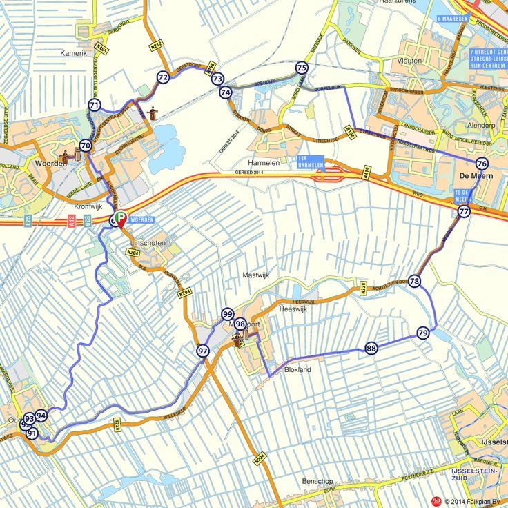 Fietsroute: Oude water en de Meern  (http://www.route.nl/fietsroutes/115790/Oude-water-en-de-Meern/)